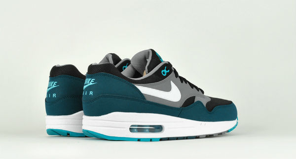 Nike Air Max 1 Essential Black Midnight Torquoise | MATÉRIA:estilo