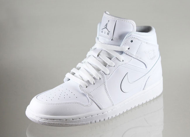 Air Jordan 1 Mid White