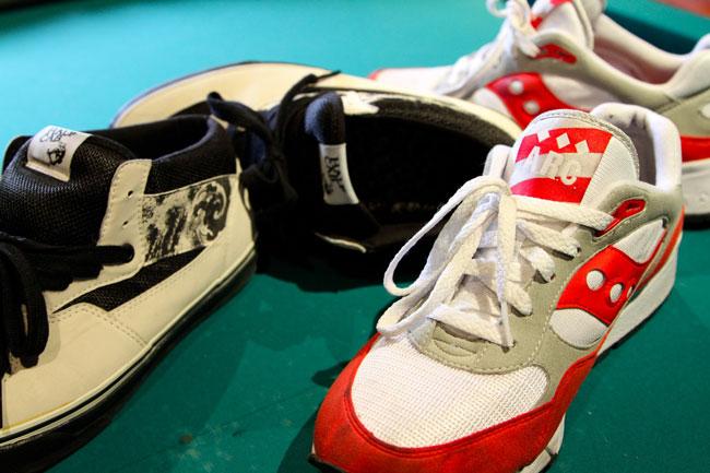 Miguel Meruje | Colecção de sneakers