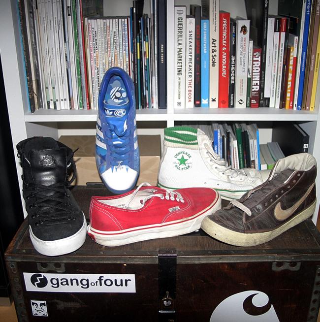 Pedro Oliveira | Colecção sneakers