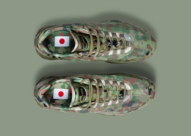 Nike Tier Zero Air Max Country Camouflage Pack – Japan