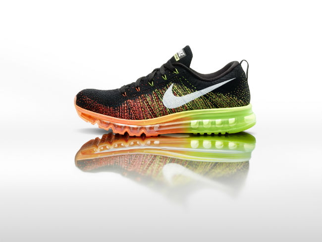 Nike Flyknit Air Max e Air Max 2014
