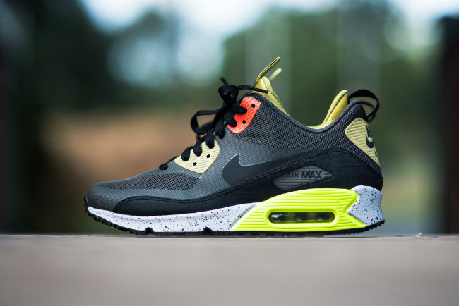 92865842ee2 ... Nike Air Max  90 Sneakerboot NS Olive