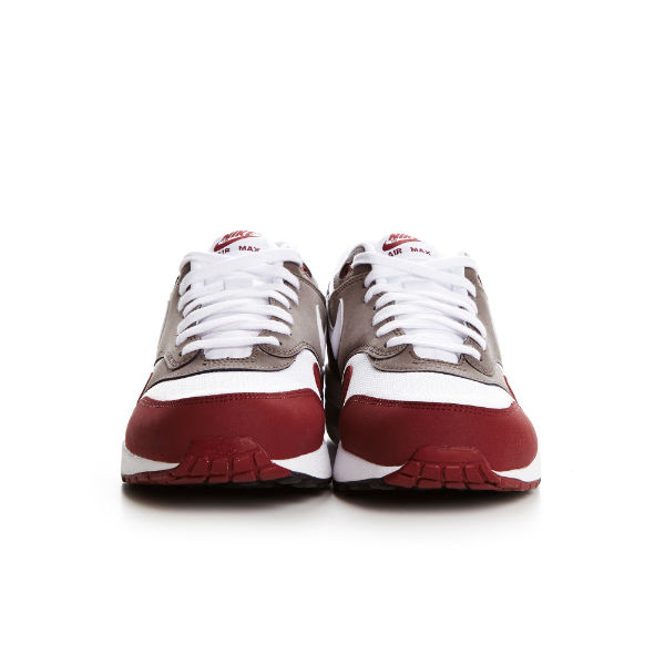 Nike Air Max 1 Essential Team Red / White / Petra Brown