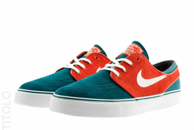 Nike SB Zoom Stefan Janoski Dark Sea / Team Orange
