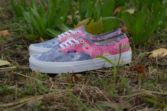 Vans Authentic Liberty Peacock / White