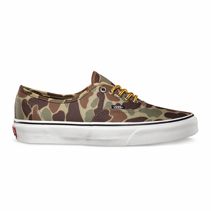 Vans Authentic Waxed Canvas Camo / Marshmallow