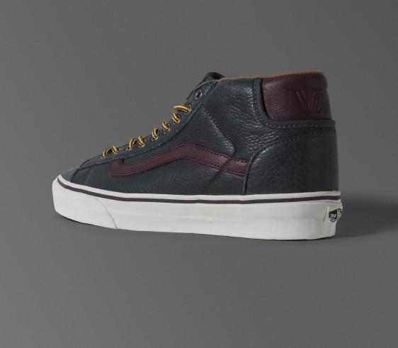 """Vans Mid Skool 77 CA """"Pebble"""" Leather"""