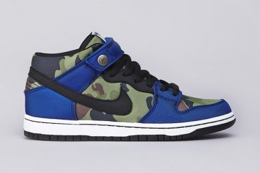 Nike SB Dunk Mid Pro Old Royal / Black / White