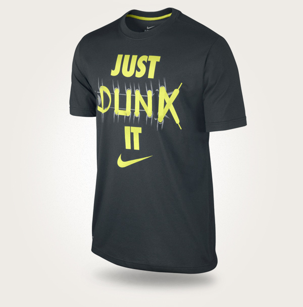 T-Shirt Dunk it Laces