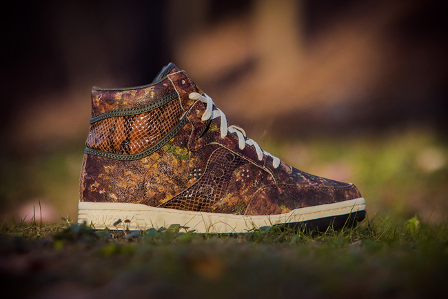 Packer Shoes x Saucony Hangtime Woodland Snake