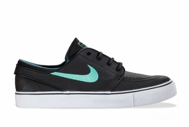Nike SB Stefan Janoski Black / Crystal Mint-Night Factor