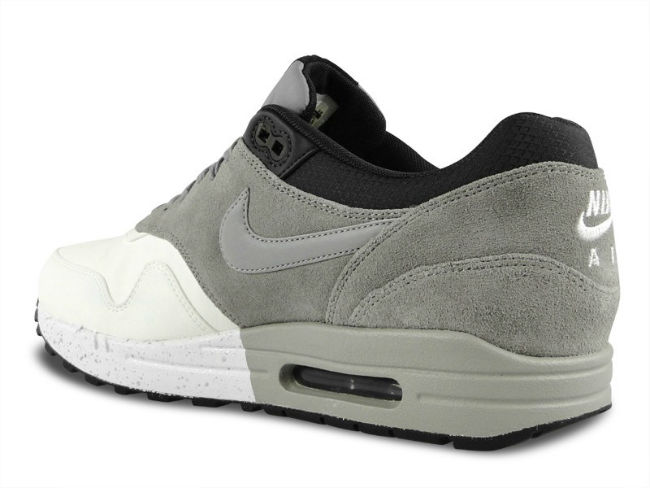 Nike Air Max 1 Premium Medium Grey / Black / Dark Charcoal