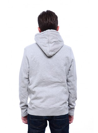 Tellason Denim Pullover Hooded Fleece