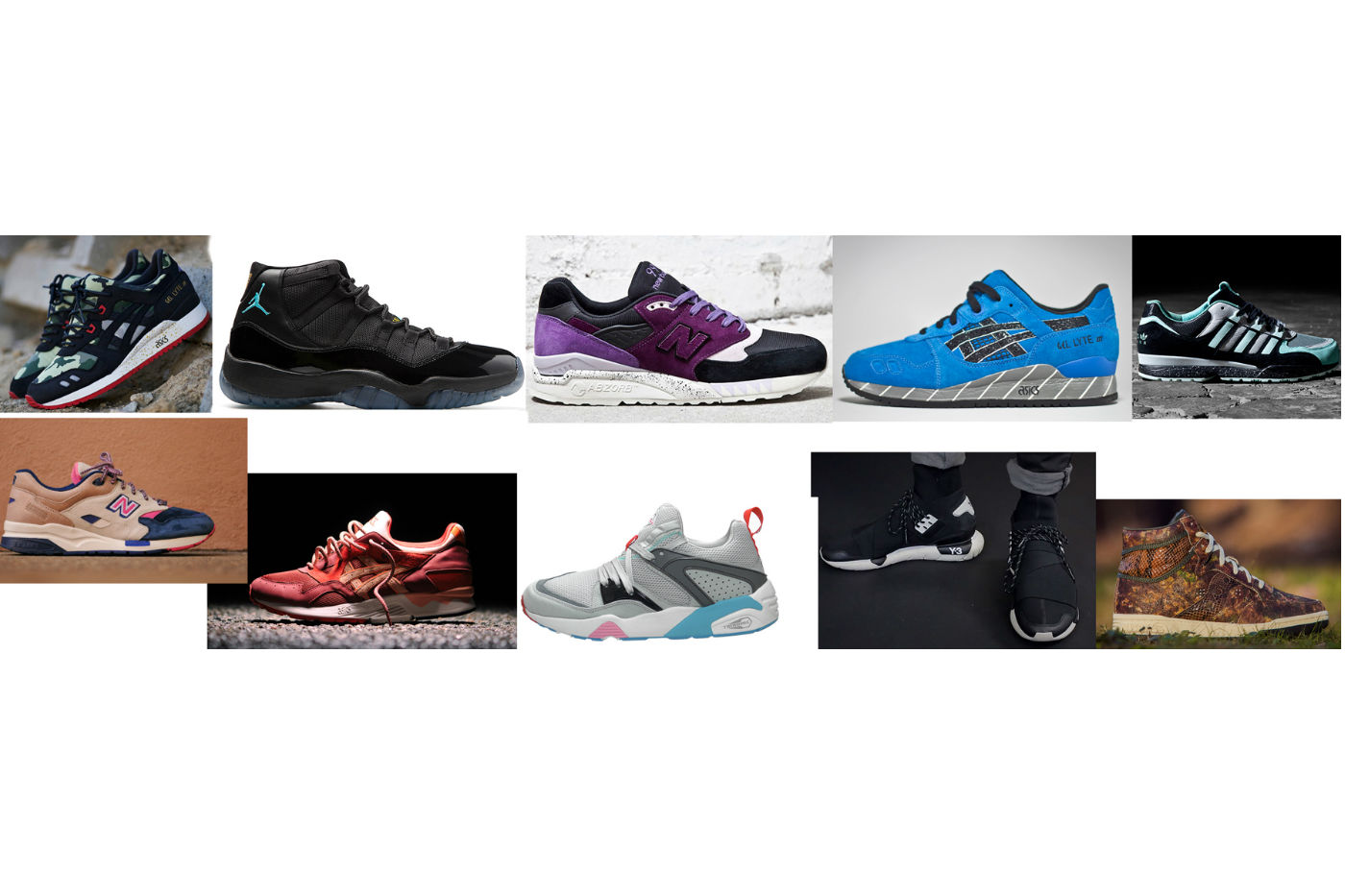 Top 10 Sneakers 2013