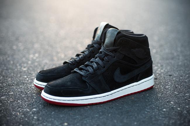 Air Jordan 1 Mid Nouveau Black