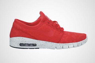 Nike Stefan Janoski Max Light Crimson