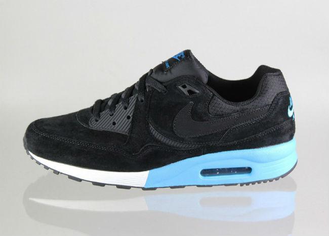 Nike Air Max Light Premium Black / Vivid Blue