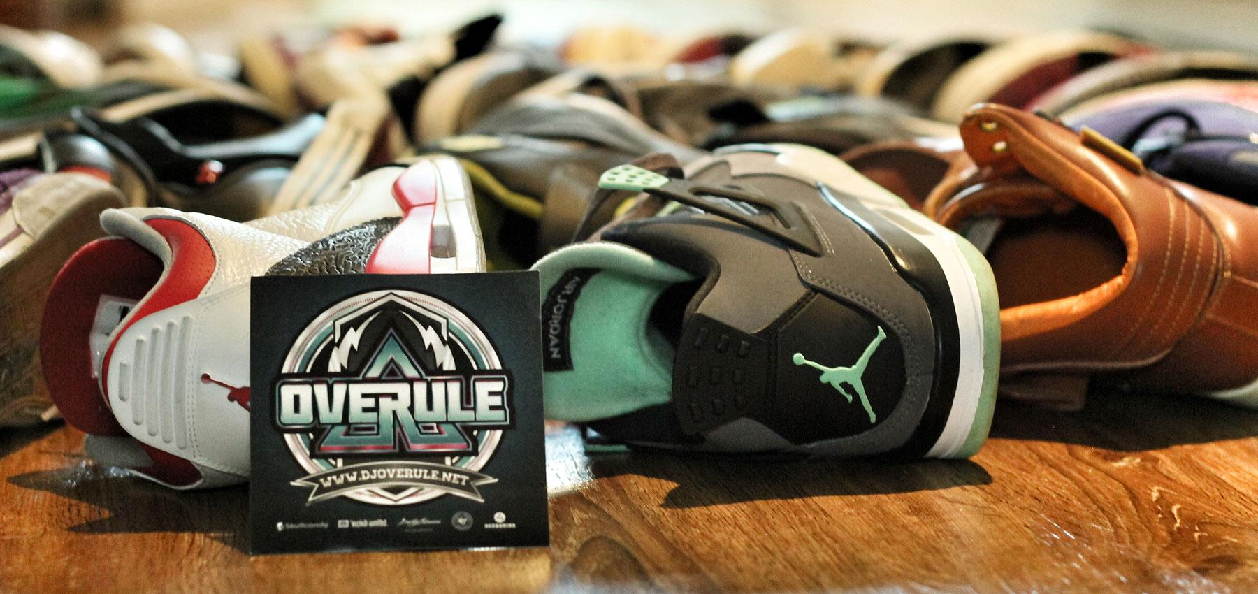 DJ Overule | Sneaker Collection