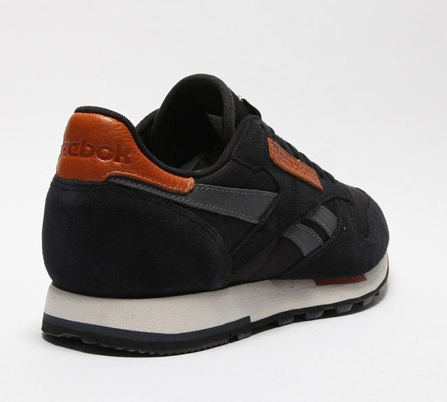 Reebok Classic Leather Black / Graphite / Sand