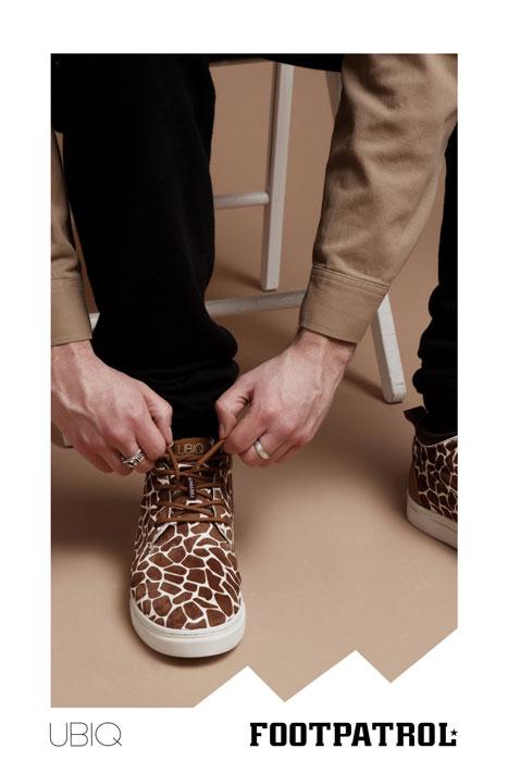 Footpatrol x UBIQ Japan Fatima Mid 'Giraffe'