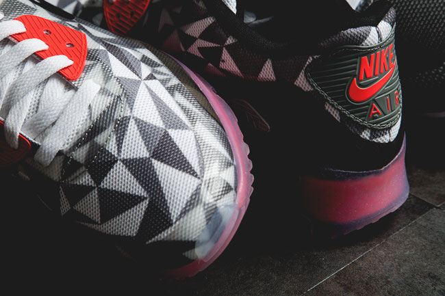 Nike Air Max 90 Ice and Nike Air Max 90 Jacquard Infrared