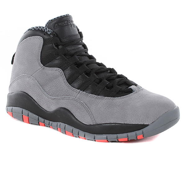Nike Air Jordan 10 Retro Cool Grey/infrared