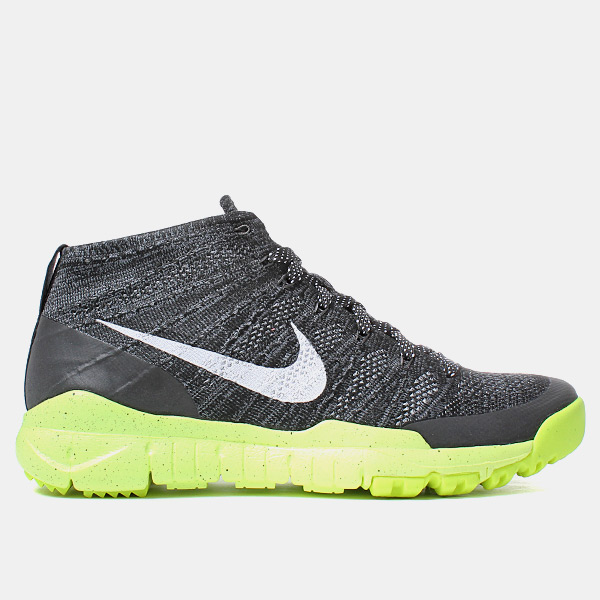 Nike Flyknit Trainer Chukka Fsb Black/white/volt