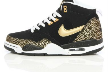 Nike Flight '13 Mid Black/Metallic Gold