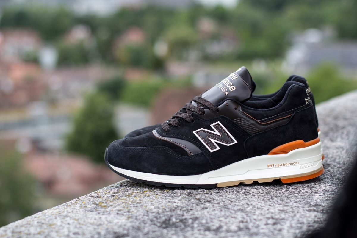 New Balance M997PR Black Suede