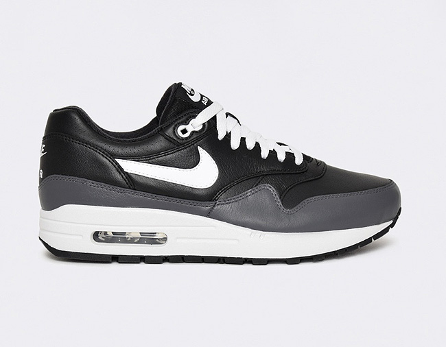 Nike Air Max 1 Leather Grey / Black
