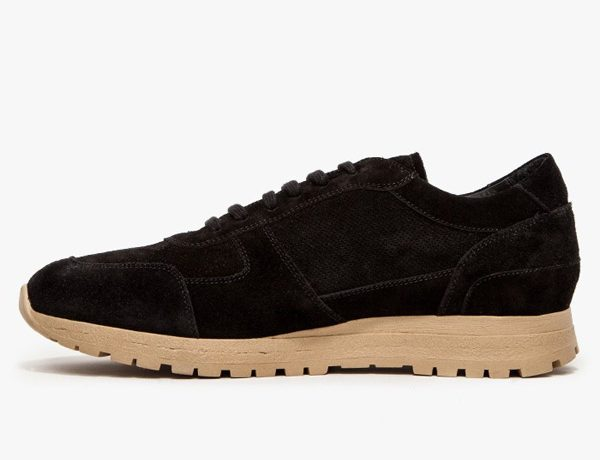 Common Projects Track Shoe Black Suede