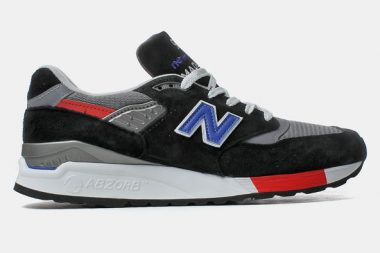 New Balance M998HL Black / Red / Blue