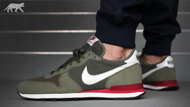 Nike Internationalist Leather Cargo Khaki
