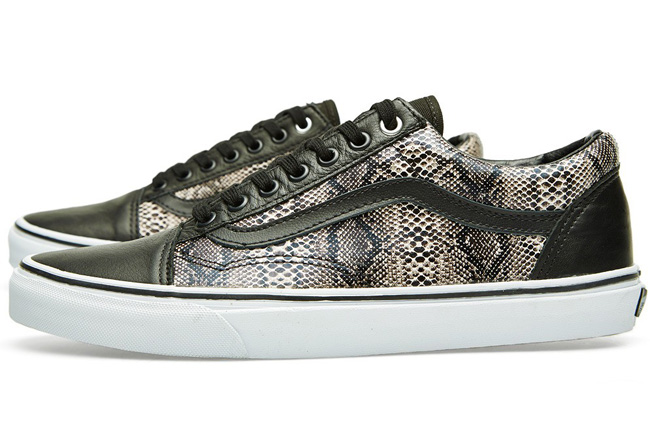 Vans Old Skool Black Snake / Khaki