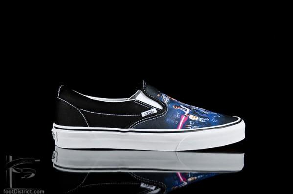 Vans slip-on star wars