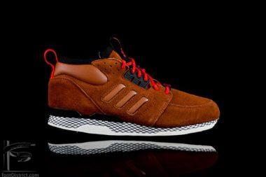 adidas Originals ZX Casual Mid Brown Suede