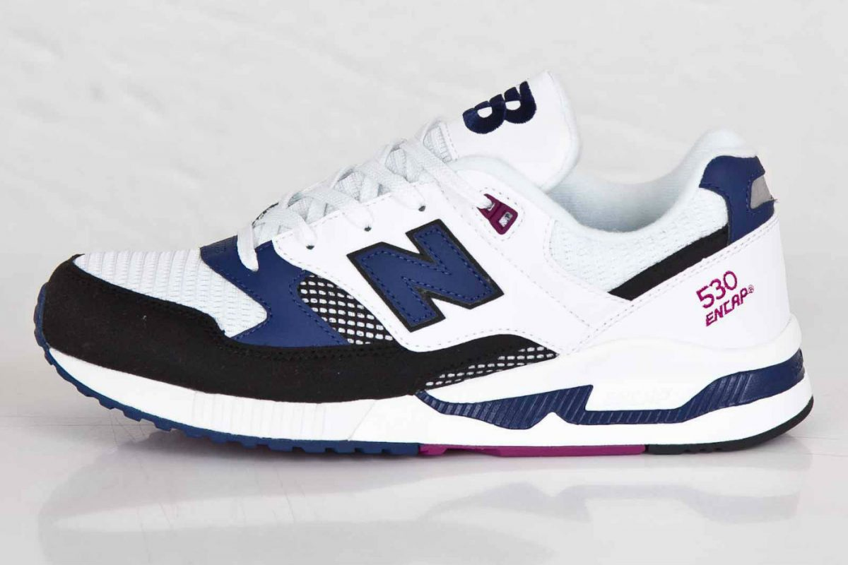 New Balance m530 blue white