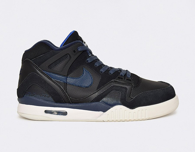 nike air tech challeng II black blue