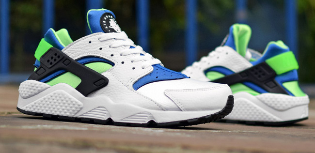 Nike Air Huarache Scream Green Og