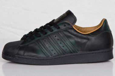 adidas originals superstar 80s Black/Wheat/Forest Night
