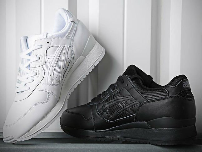 asics gel lyte iii triple black e triple white