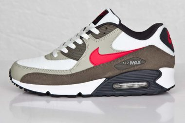 Nike Air Max 90 Essential Summit White / university Red