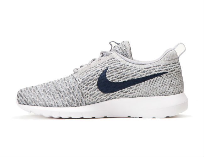 Nike Flyknit Roshe Run Light Charcoal/Dark Obsidian