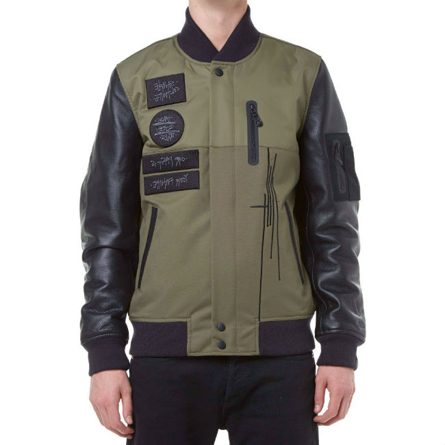 nike mo wax destroyer jacket olive
