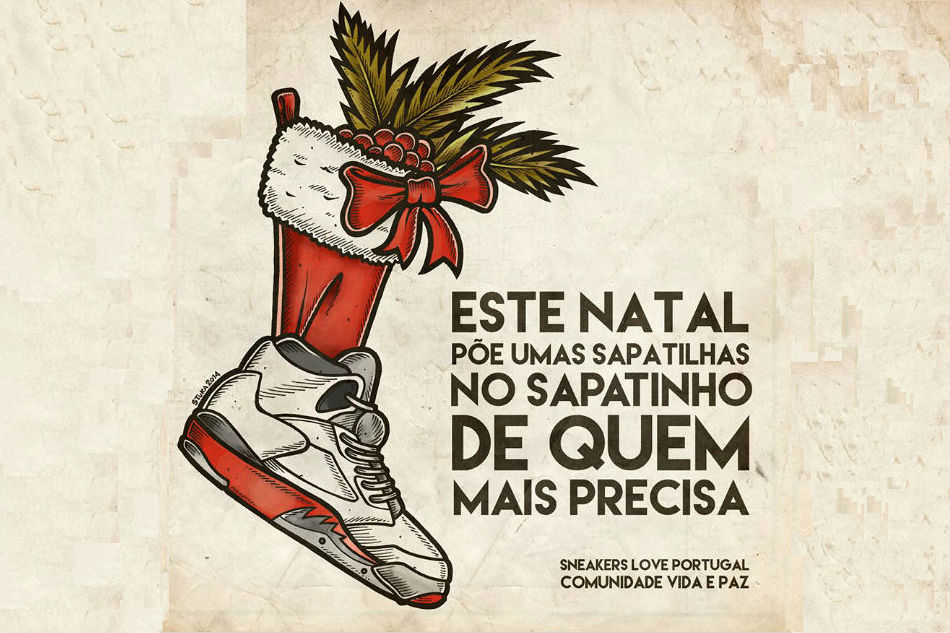 Sneakers Love Portugal x Comunidade Vida e Paz