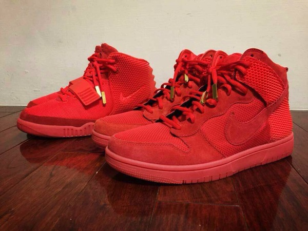 "Nike Dunk High CMFT Premium QS ""Red October"""