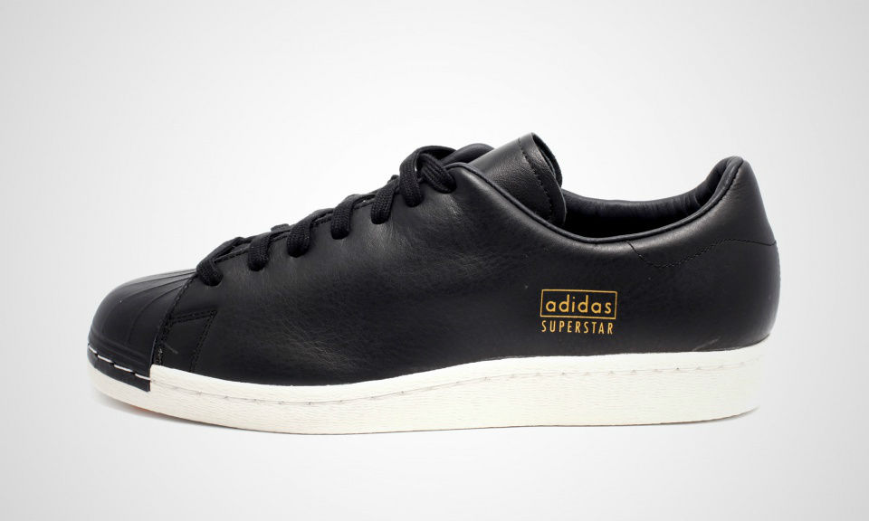 adidas originals superstar80s clean black