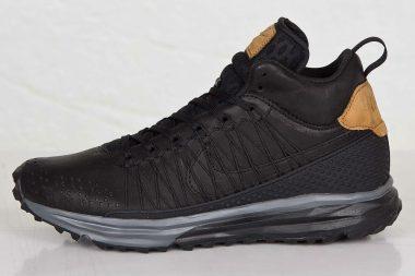 nike lunarfresh sneakerboot qs black black-ale brown