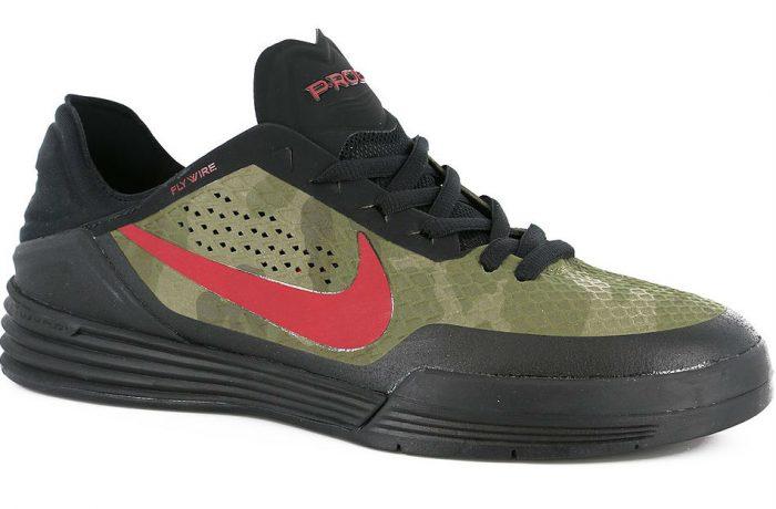Nike SB P Rod 8 Black/Gym Red/Iguana